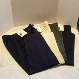 WHITE STAG PANTS , LOT OF 4 PAIR SIZE 10 PETITE